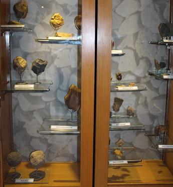Display di museum purbakala sangiran sragen