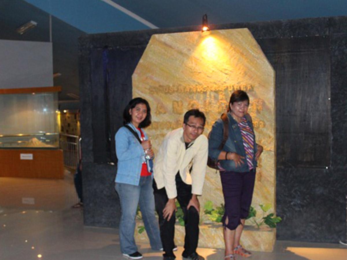 liburan ke museum sangiran