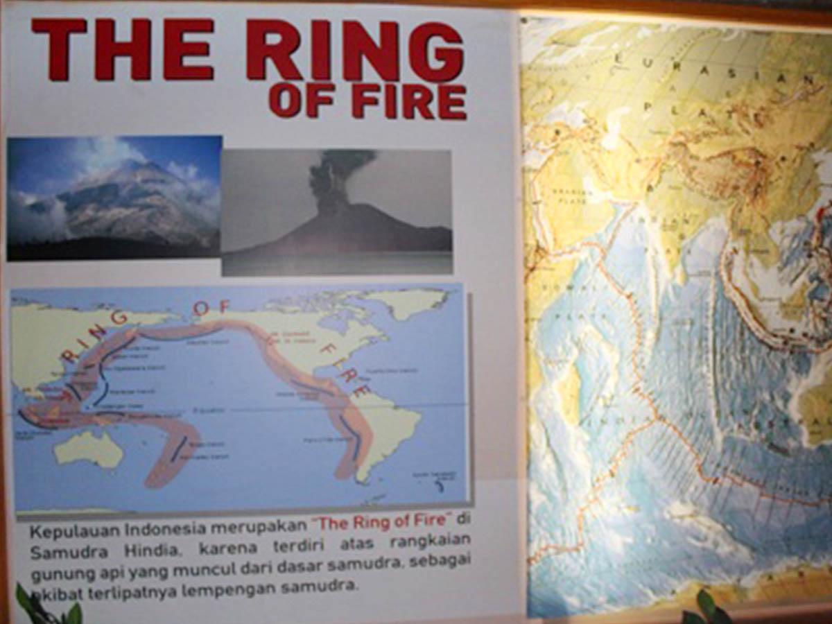 ring of fire di museum sangiran