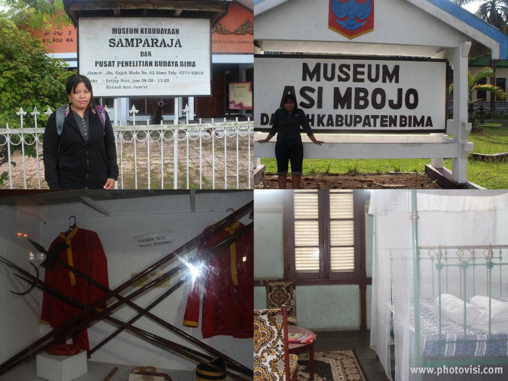 museum samparaja dan museum asi mbojo