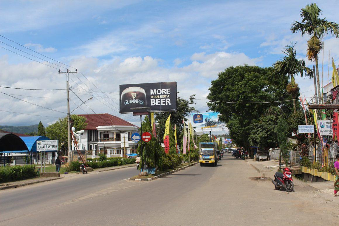 Sudut Kota Rantepao, Toraja Utara