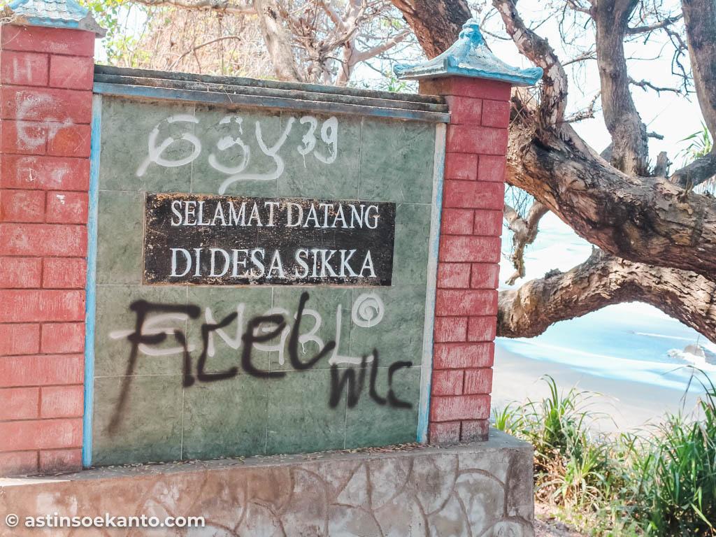 Selamat datang di Desa Sikka Maumere