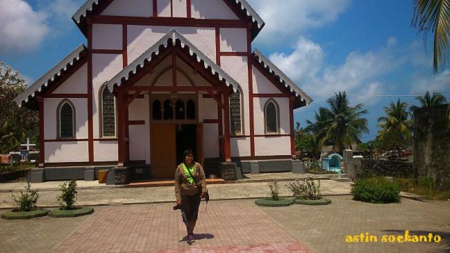 Gereja di Desa Sikka Maumere