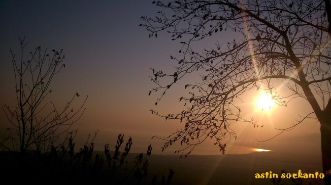 Sunrise di Bukit Bunda Maria