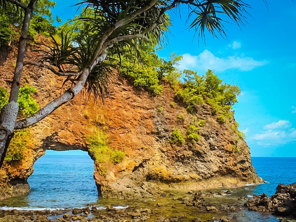 Pantai di Ambon, Pantai Pintu Kota