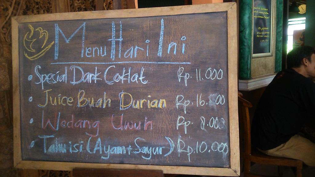Cafe di kampung kopi banaran