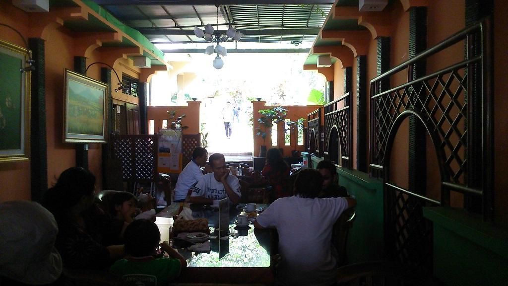 Di dalam kampung kopi Banaran