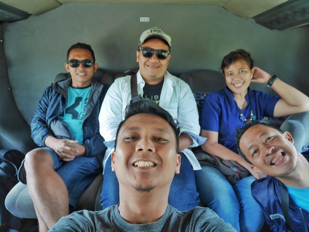 Di Dalam Bus Menuju Melaka
