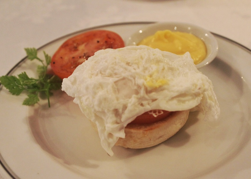 Salah satu menu breakfast di Spices restaurant