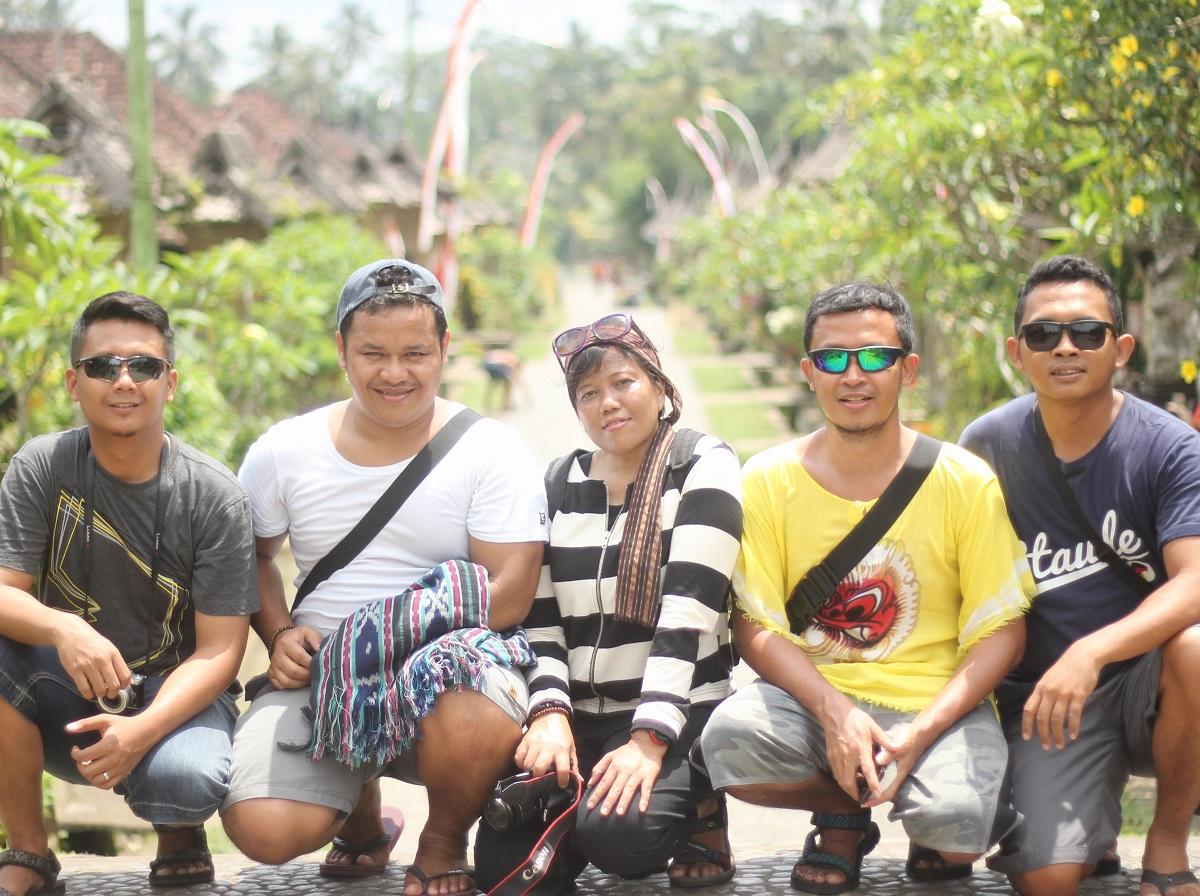 Desa Panglipuran Bali bareng teman travel blogger