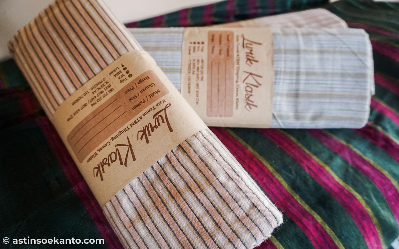 Produk penenun dari Tlingsing