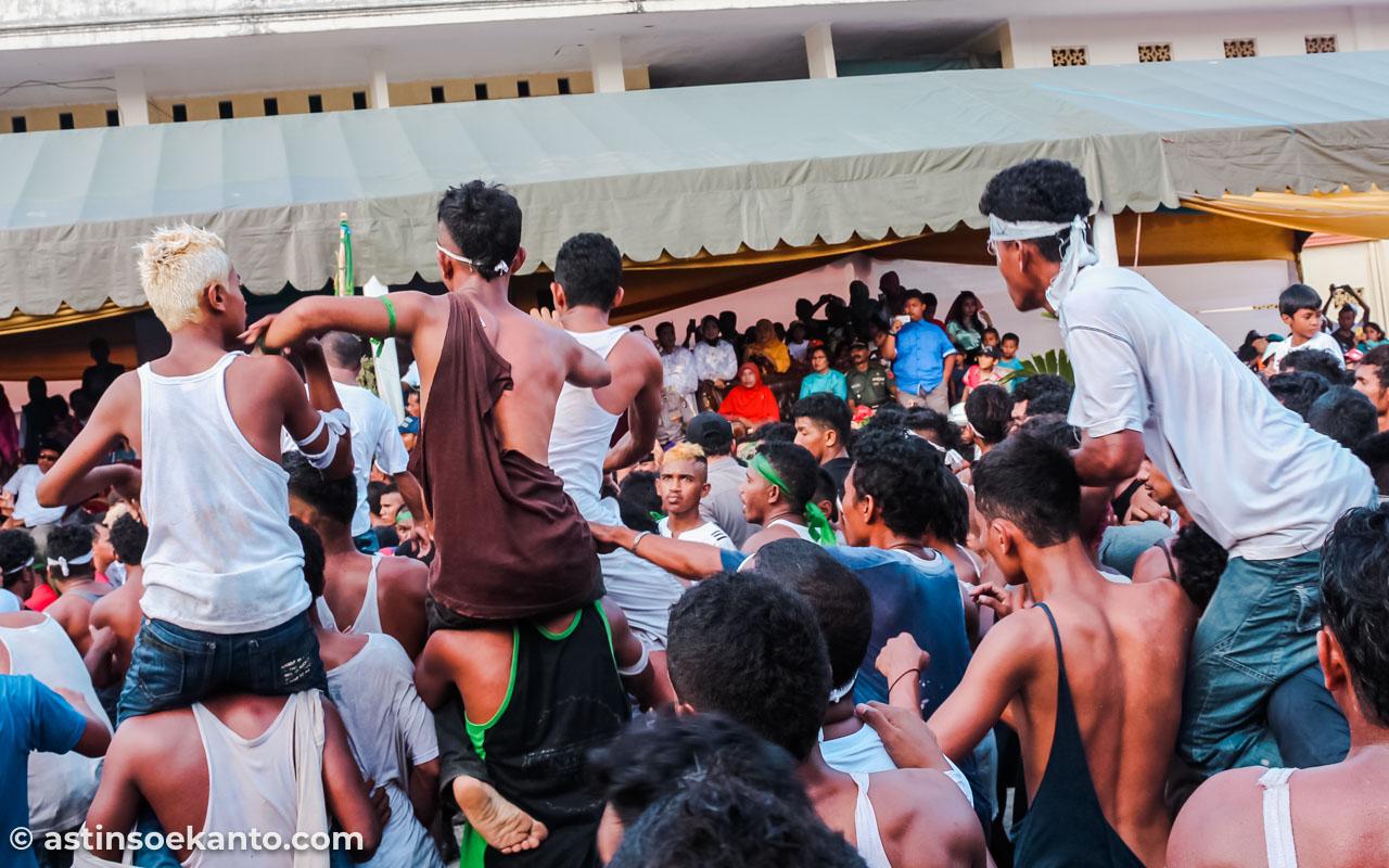 Tradisi Abda'u di Tulehu saat Hari Raya Idul Adha