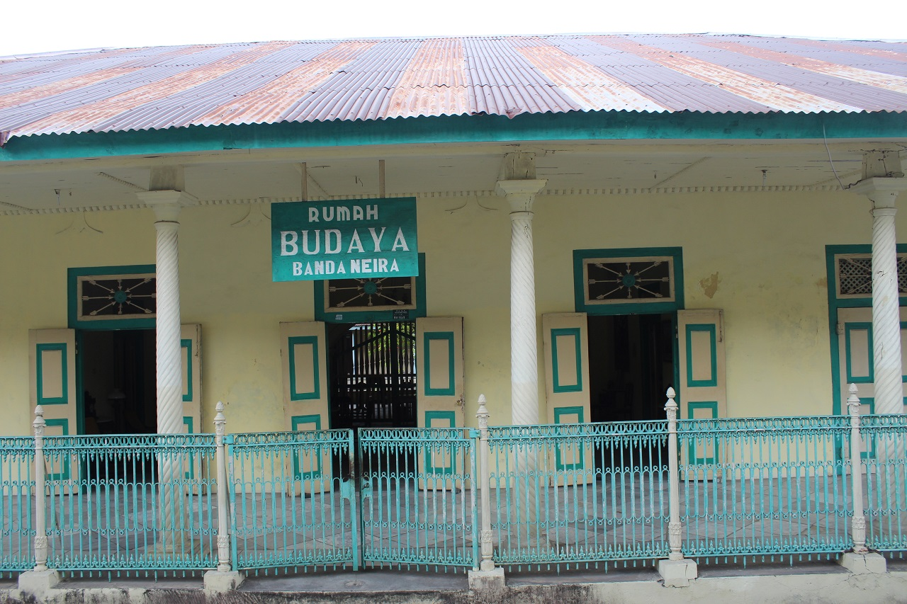 Rumah Budaya yang berfungsi sebagai museum di Banda Neira