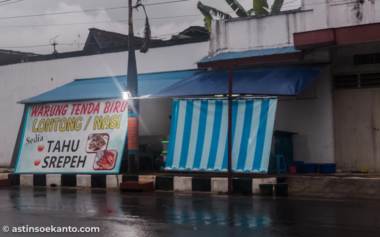 Warung Tenda Biru Sate Srepeh Rembang