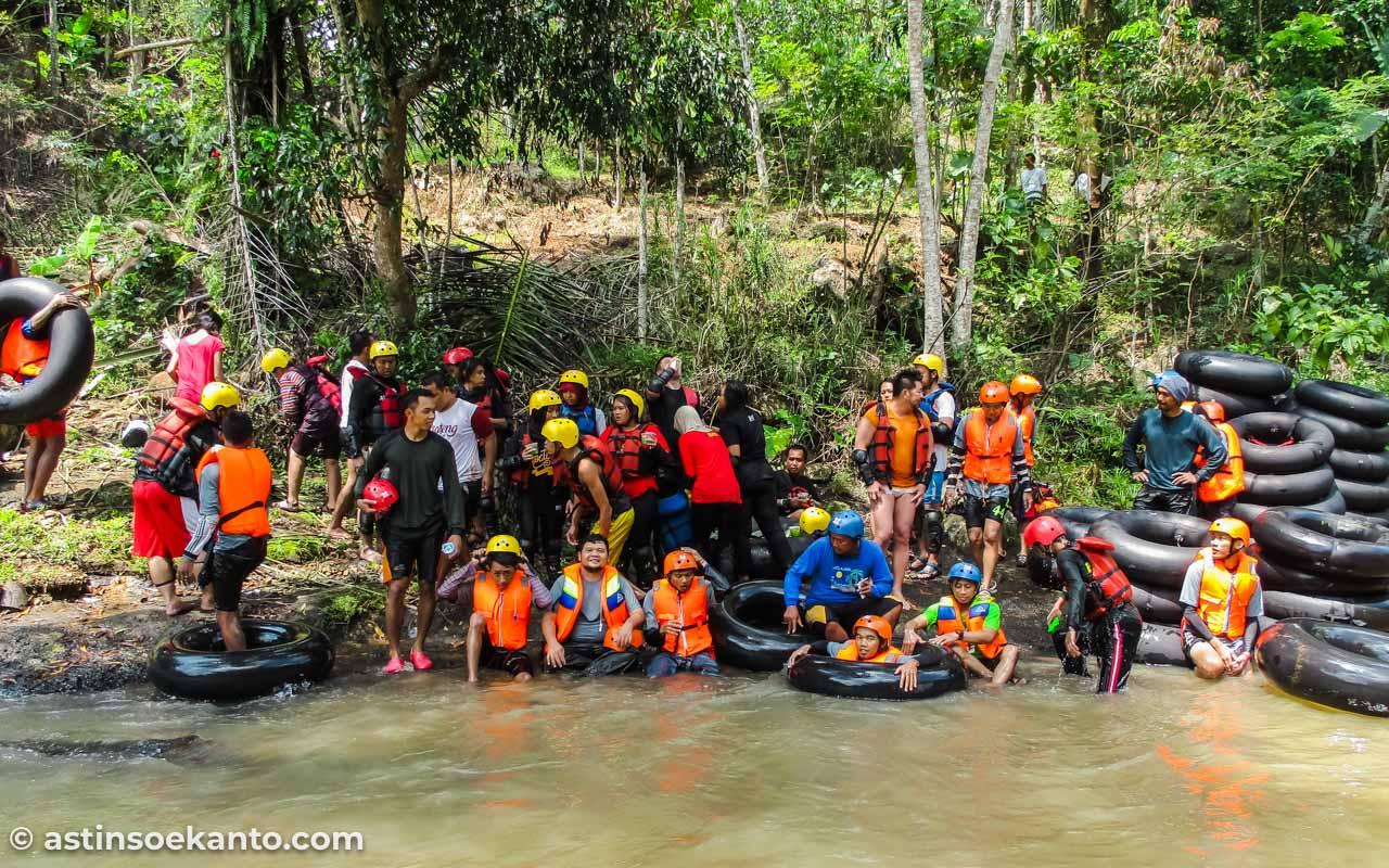 Kedung Dowo, pos terakhir tubing Kali Kreo